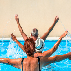 Aquatic Exercises — One Strategy To Keep Seniors Strong and Mobile