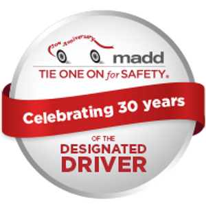 MADD's Red Ribbons for Safe Driving Celebrates 30 Years of Saving Lives