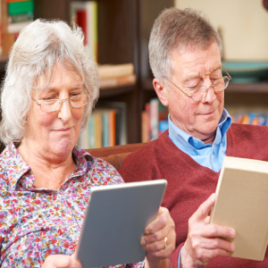 Joy of Reading is Ageless and Digital Technology Makes Options Endless