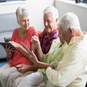 Digital Games Benefit Seniors — Family Caregiver Quick Tip