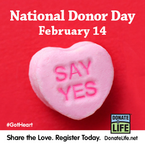National Donor Day: Sharing the Gift of Life Through Organ Donation