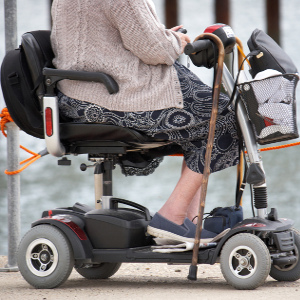 Mobility Scooters Mean Independence on Wheels – and Risks – for Seniors