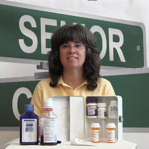 Drug Safety in Seniors' Medicine Cabinets – Family Caregiver Video Tip