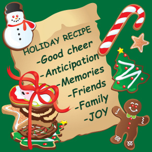 Recipe for a Happy Family Caregiver Holiday