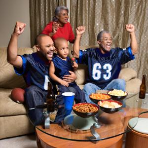 Super Bowl, Super Family Day as Social Media Bridges Generations & Distance