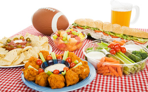 family football party food