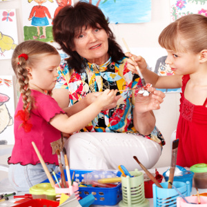 Grandma Benefits When She Babysits – Till There's Too Much of a Good Thing