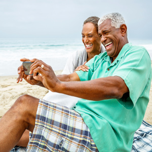 Seniors' Life & Health Benefit When Happy with the Way They are Aging