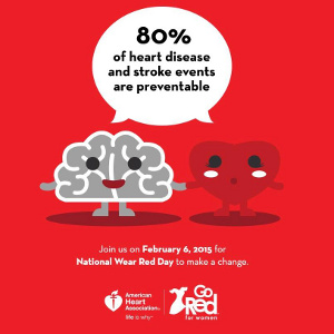 Take Action to Fight Heart Disease! Go Red to Encourage Others, Too