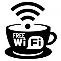 free coffee shop wifi