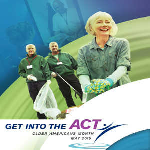 Celebrating Older Americans Month and Seniors Getting Into The Act