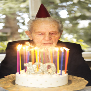 Caring for Centenarians Requires Self Care by Family Caregivers, Too