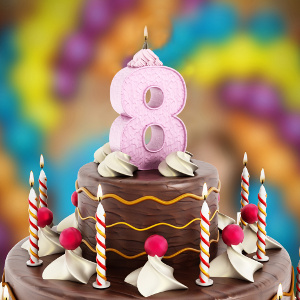 It's Our Birthday! Celebrating 8 Years Caring for Seniors' Family Caregivers