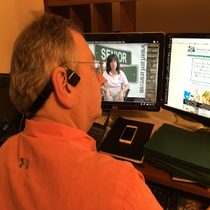 Family Caregiver Lifestyle Tech – Headphones That Leave Ears Open