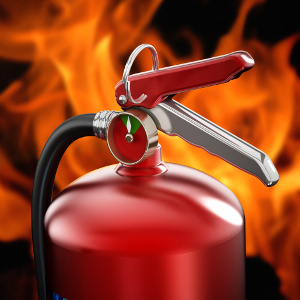 Keep a Fire Extinguisher Ready — Family Caregiver Quick Tip
