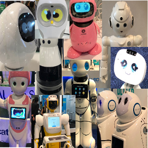 Home Robots Everywhere at #CES2018 in All Shapes, Sizes, and Functions (Almost)