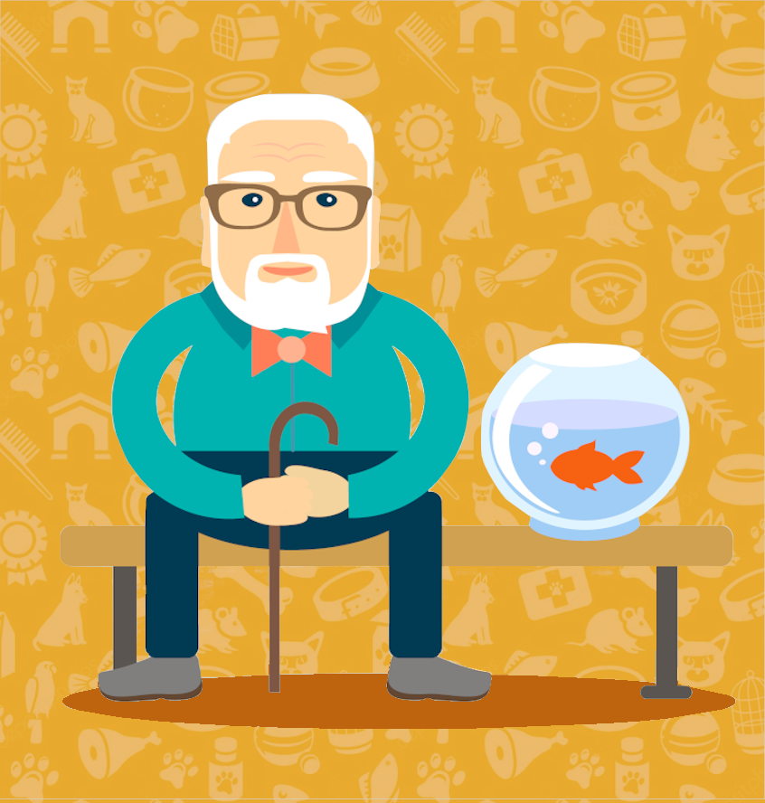 What's the Best Pet for a Senior Loved One with Dementia?
