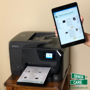Wireless Printing for Seniors' Homes — Family Caregiver Quick Tip